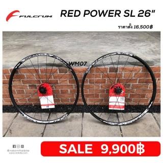 "Fulcrum Red Power SL DB Black ล้อ 26"" [wm07]"