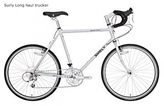 SURLY Long haul trucker -Silver  Size 52