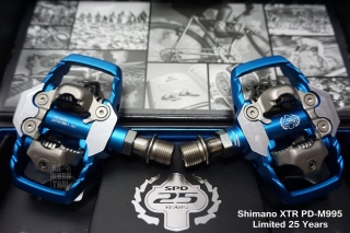 Shimano XTR PD-M995 Limited Edition 25 th