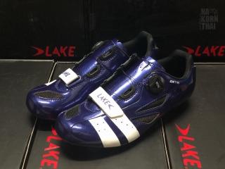 LAKE CX176-X สี Navy Blur / White Size EU44 (276.5-280mm)