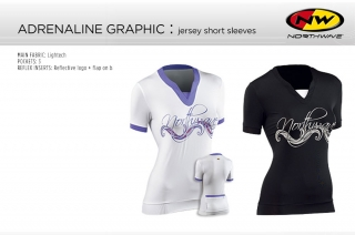 Northwave Adrenaline (short sleeve) - Ladies