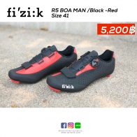 Fizik R5 BOA Man - Black/Red size 41
