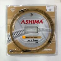 Ashima Brake Cable Road - Diamond like coating สายเบรค