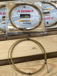 Ashima Re-action+ สายเกียร์และสายเบรกเคลือบ Diamond-Like Coating