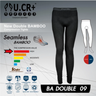 2018 : กางเกง UCR 18 New Double BAMBOO /9 ส่วน PAD/(BLK)